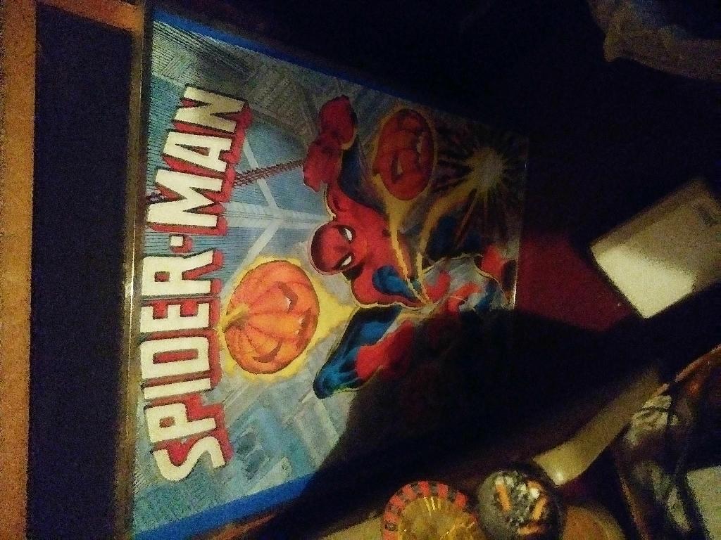 Vintage Spider-Man poster