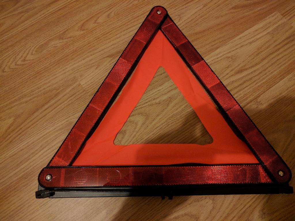 AA Emergency Warning Triangle
