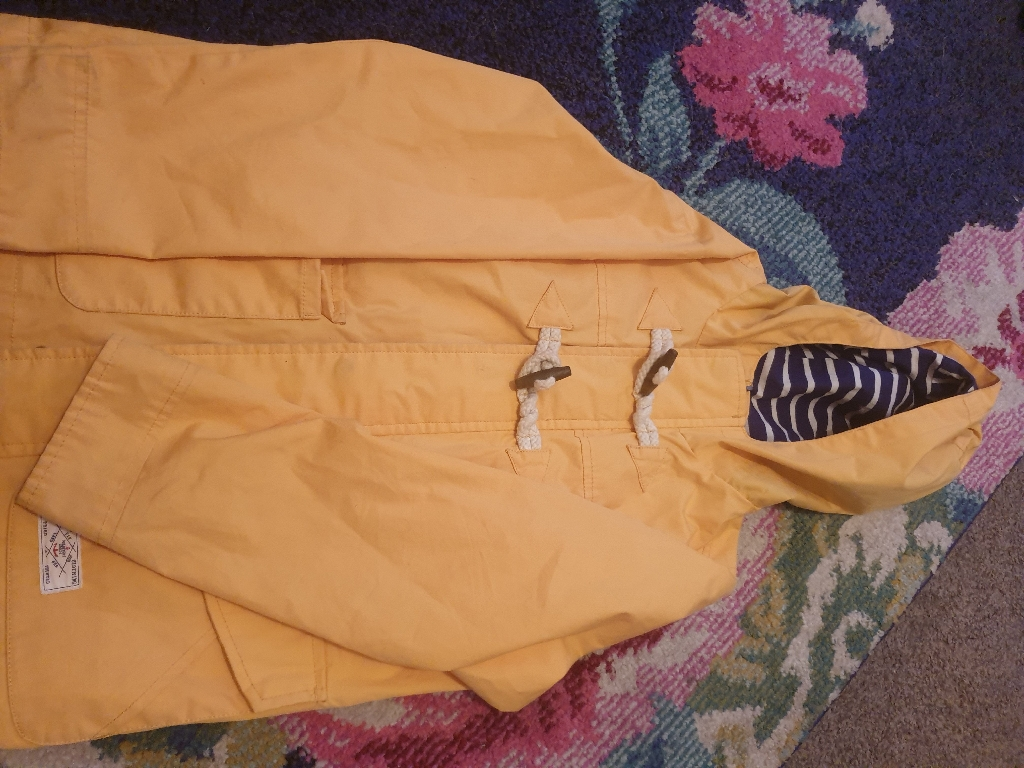 Joules age 8 lightweight coat