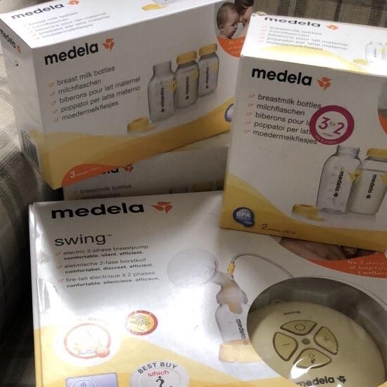 Medala swing breast pump