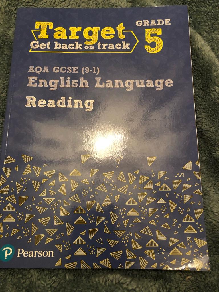AQA GCSE English language reading revision never used