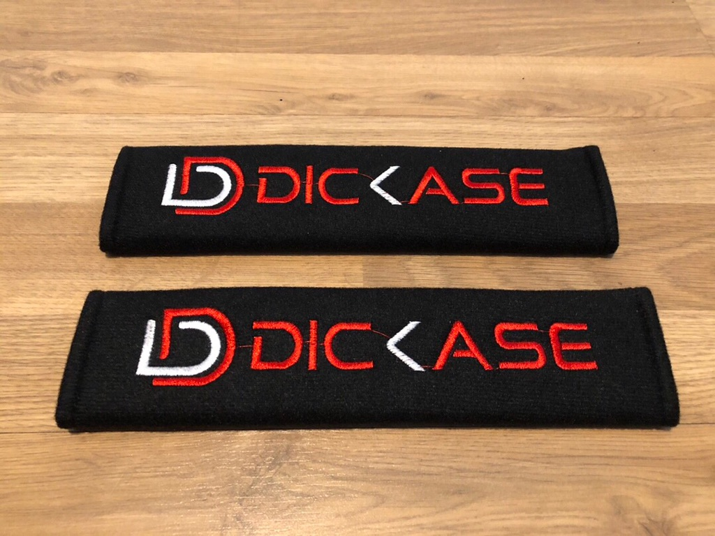 2X Seat Belt Pads Gift DD Dicase Sport Tuning Rally Race Motorsport Turbo GP GT
