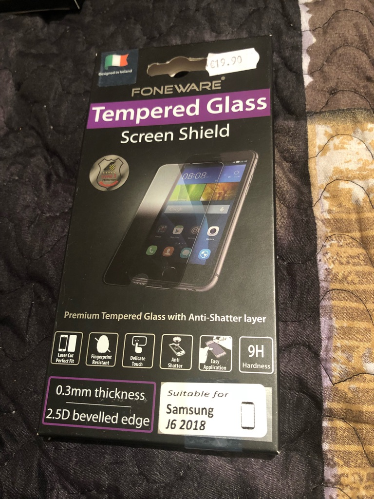 Screen protector for Samsung j6 2018