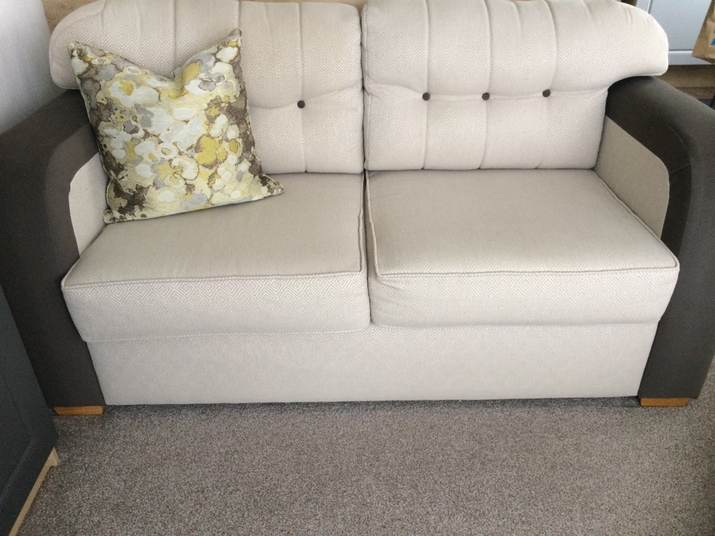 3seater sofabed +2seater new