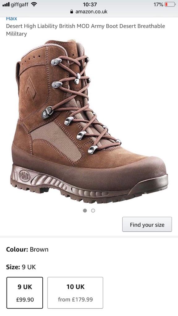 Haix desert boots