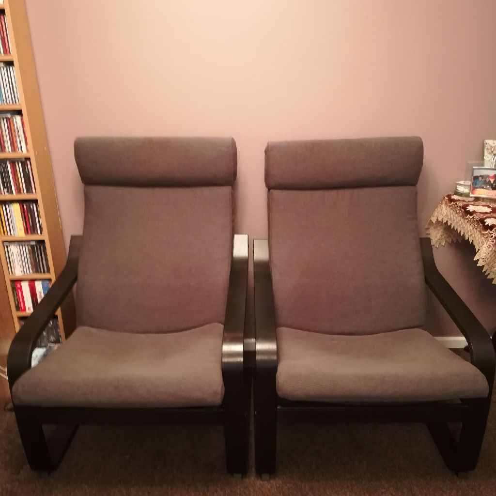 Ikia chairs and 1foot stool