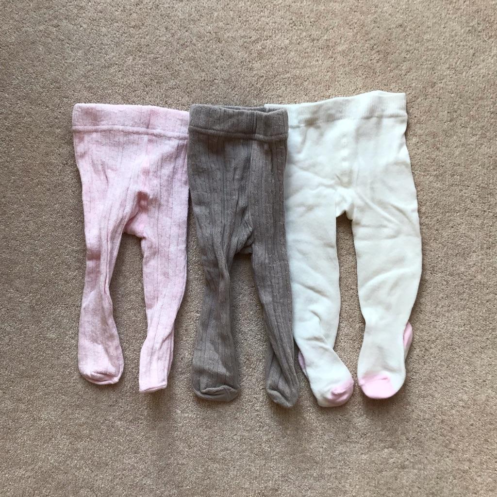 0-3 months girls tights