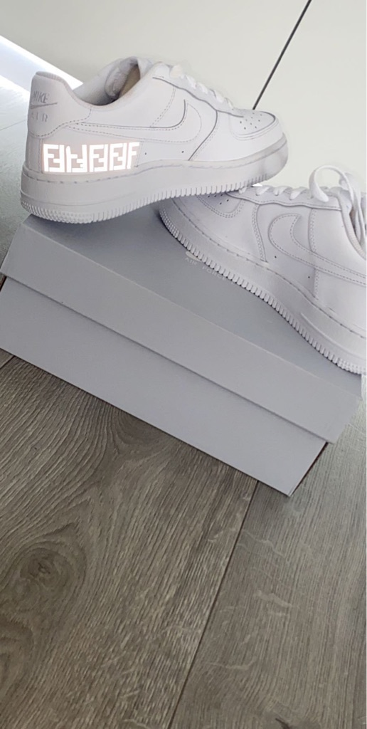Air Force 1 customs message for price