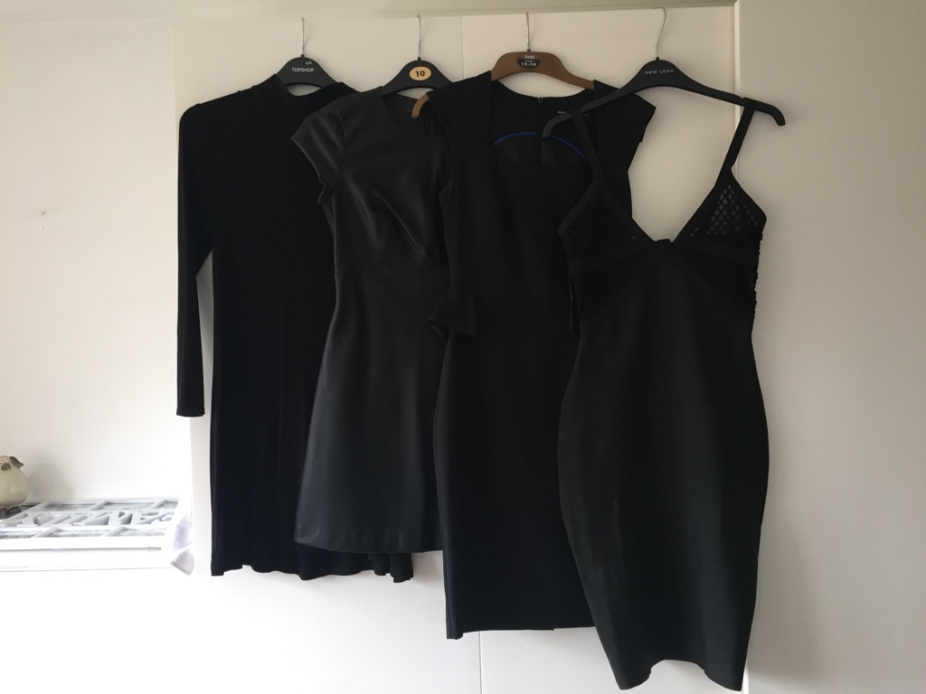 Box of ladies clothes