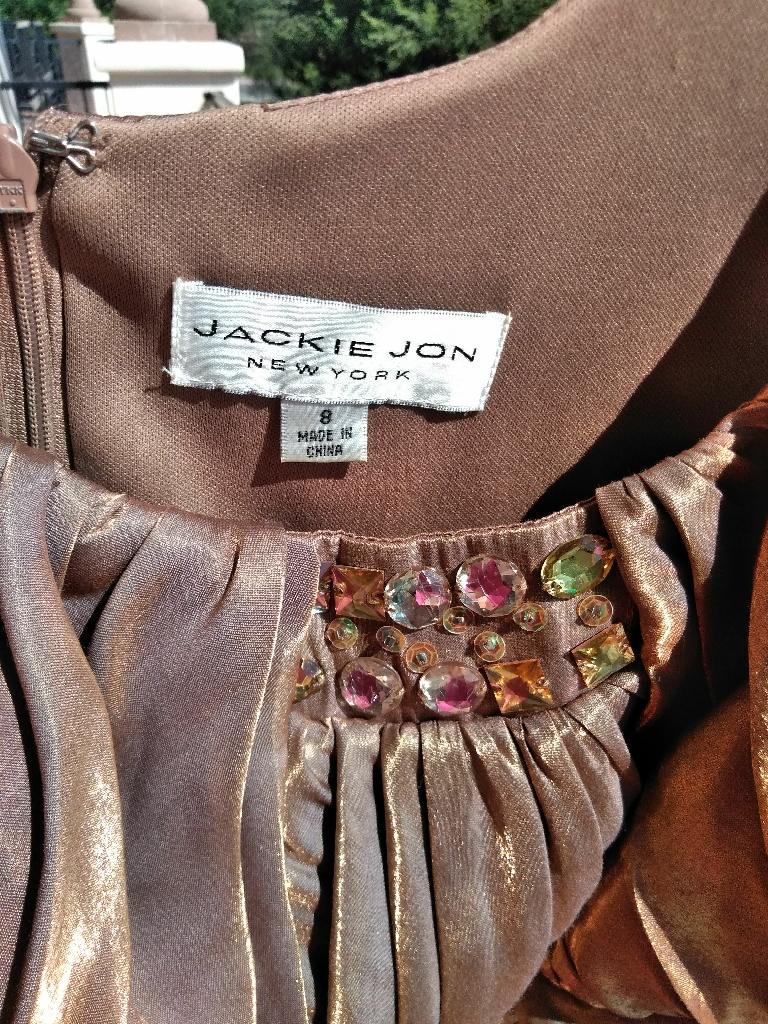 Jackie John Bronze Dress