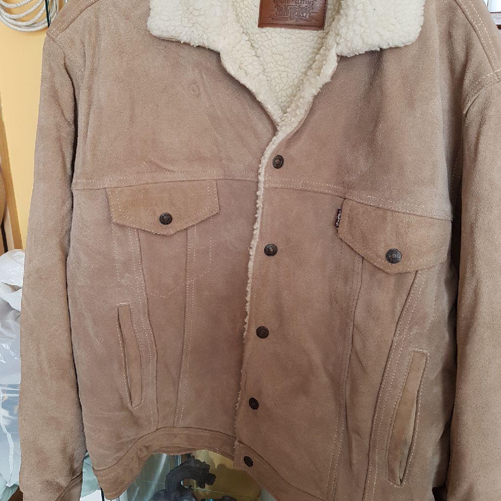 Levi leather ladies jacket