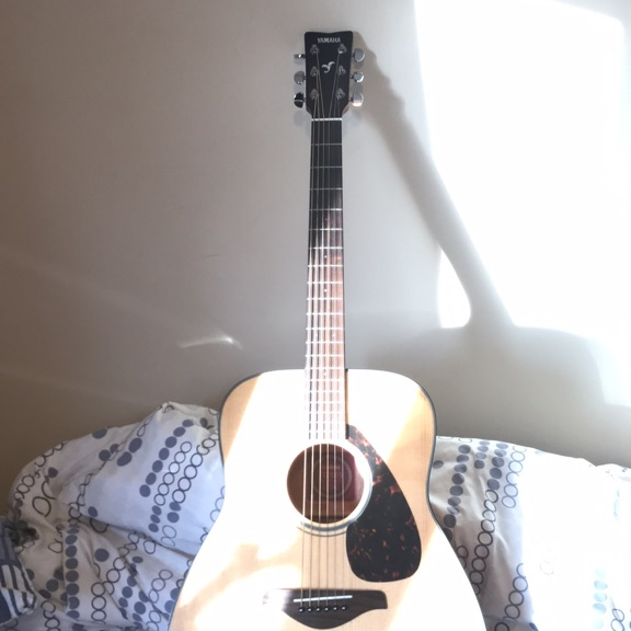 A Yamaha guitar for sale