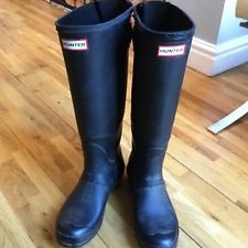 New hunter wellies size 5