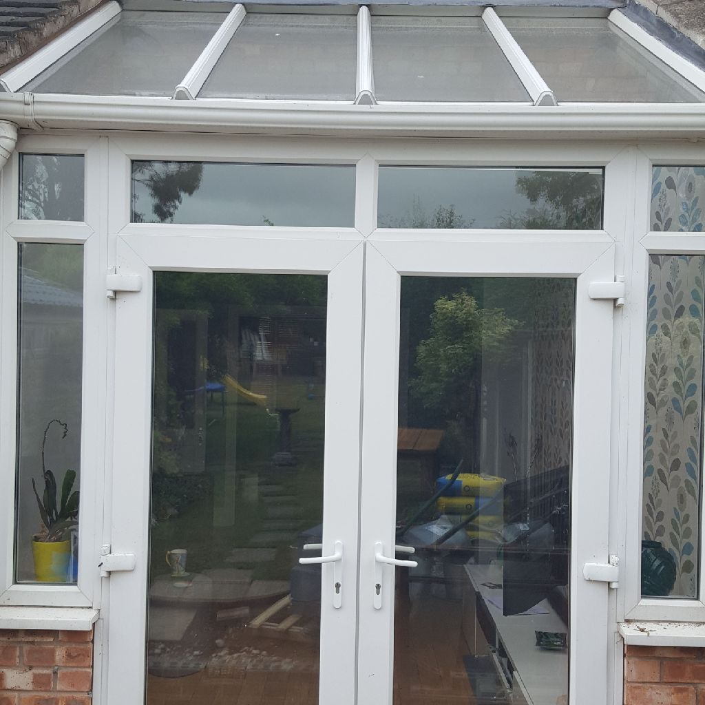 Double glazed French doors, Windows & glass roof