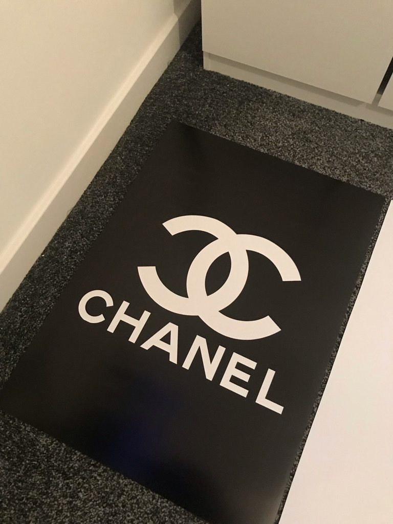 3 Chanel posters £60 Ono (Cash only)