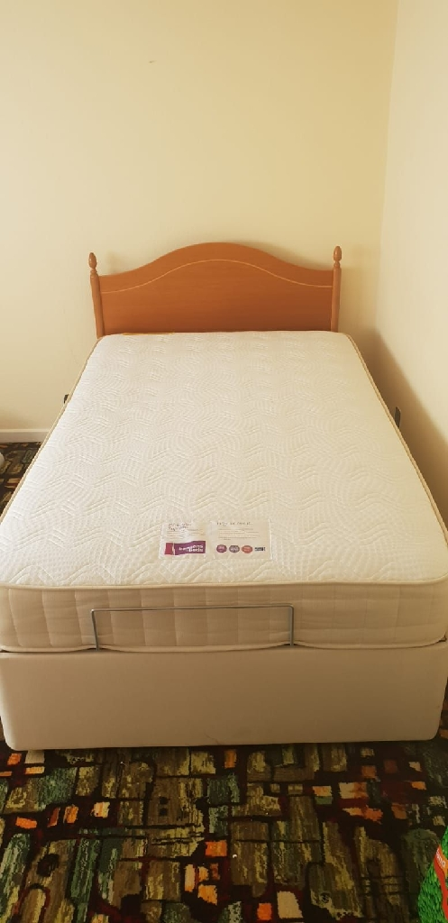 Orthopedic Bed with electric remote control