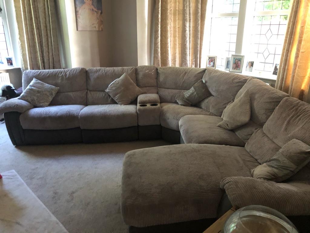 Large Electric Reclining sofa