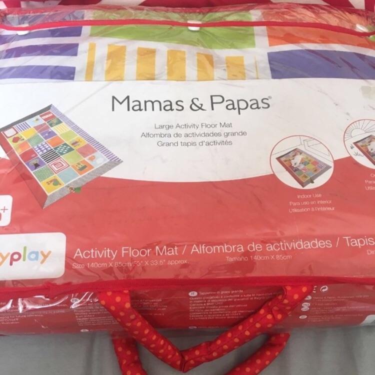 Mamas and papas baby mat