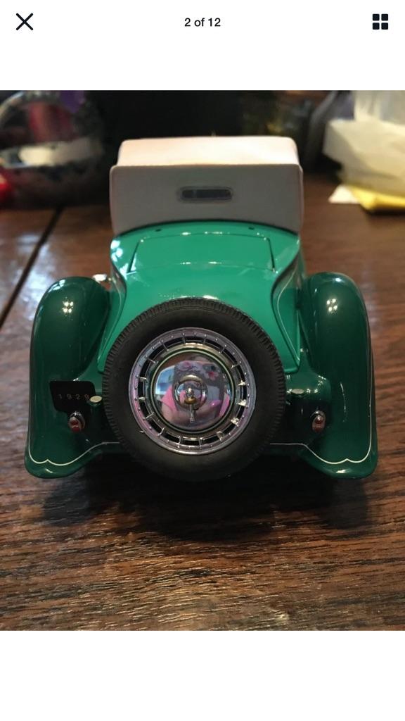Franklin mint 1929 Bugatti