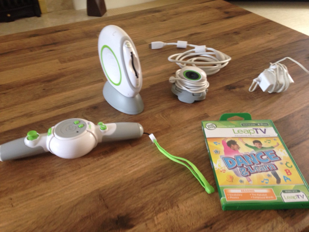 Leapfrog Leap TV and game