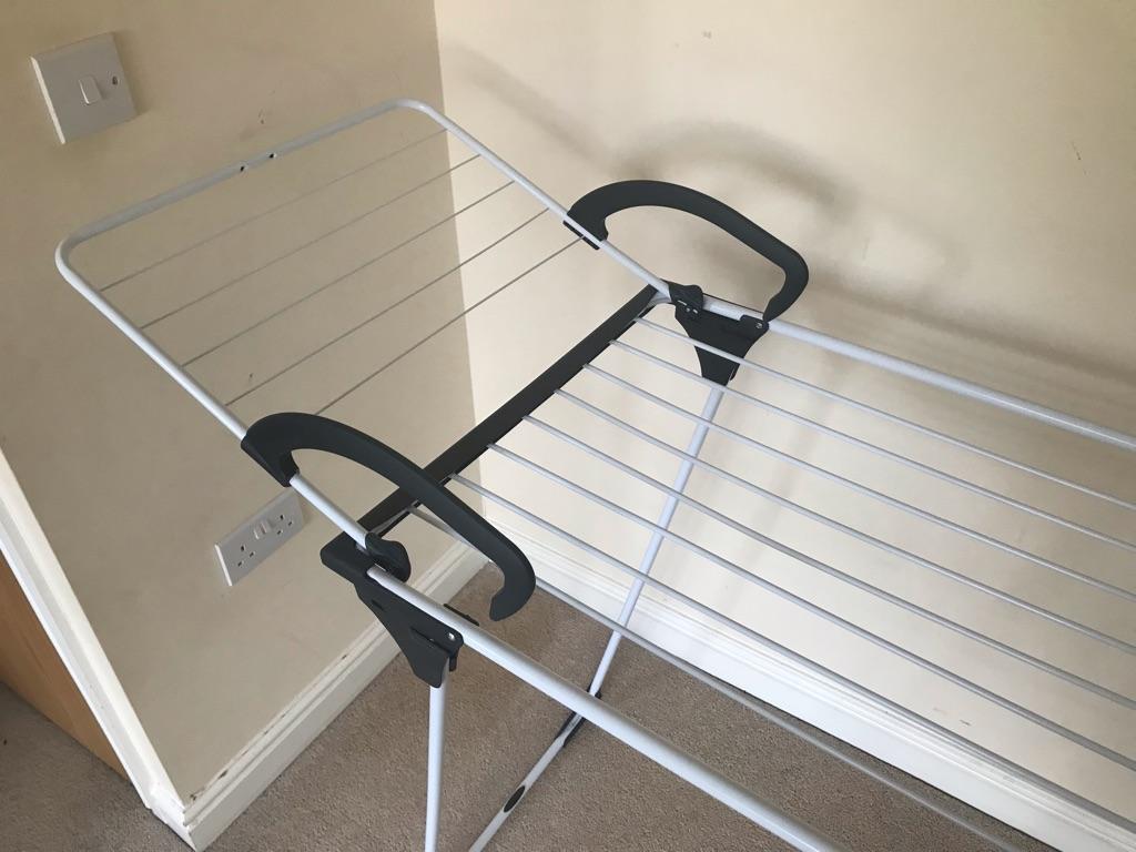 Vileda Premium 2 in 1 Indoor Table Airer & Detachable Wing805