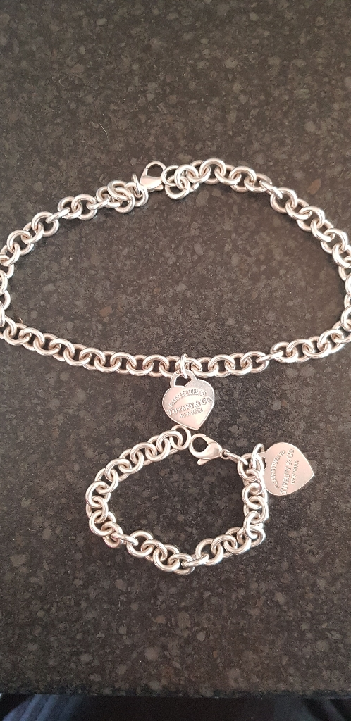 Tiffany chain and bracelet