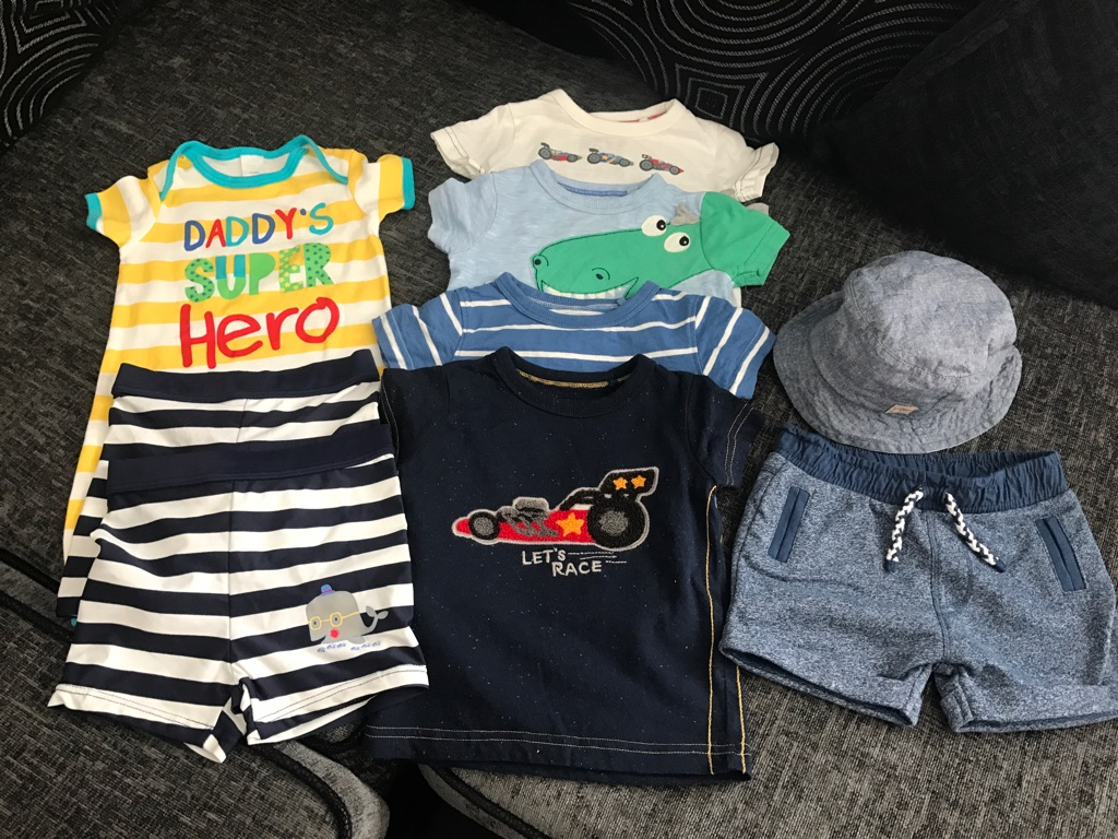 Boys 3-6 months Summer Bundle