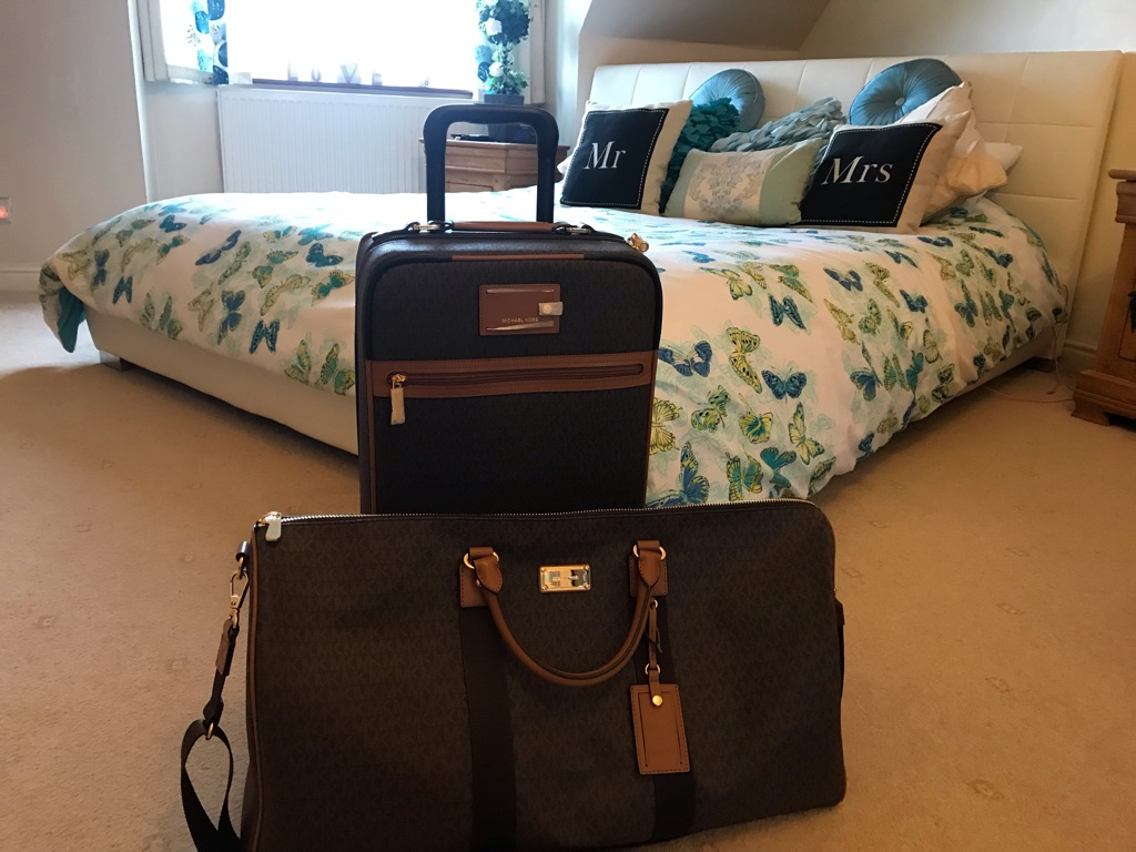 Genuine Michael kors luggage
