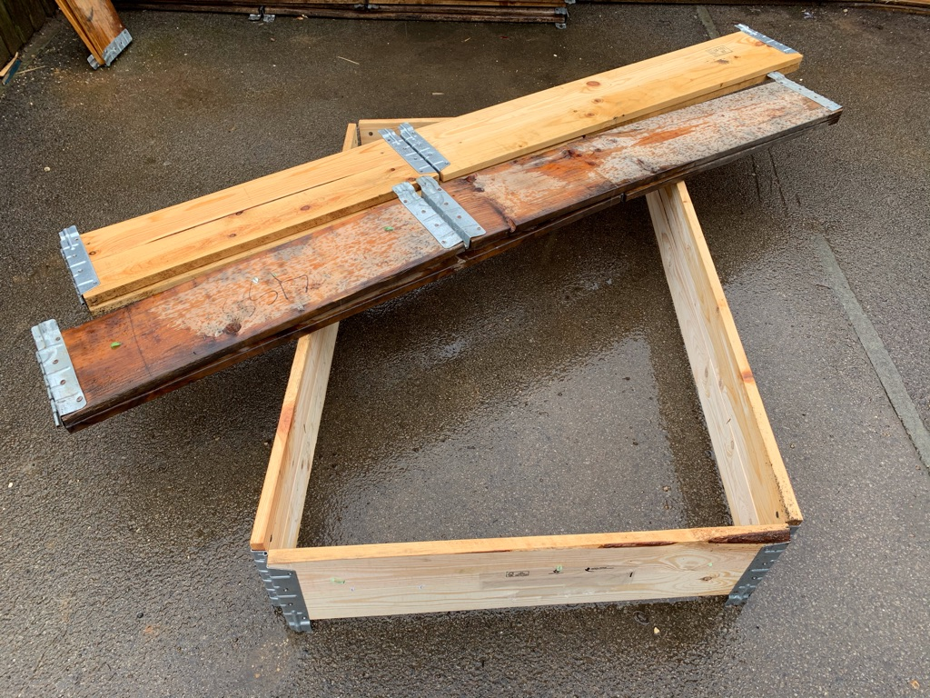 Pallet collars x 10 1200 x 1000mm (Special Offer)
