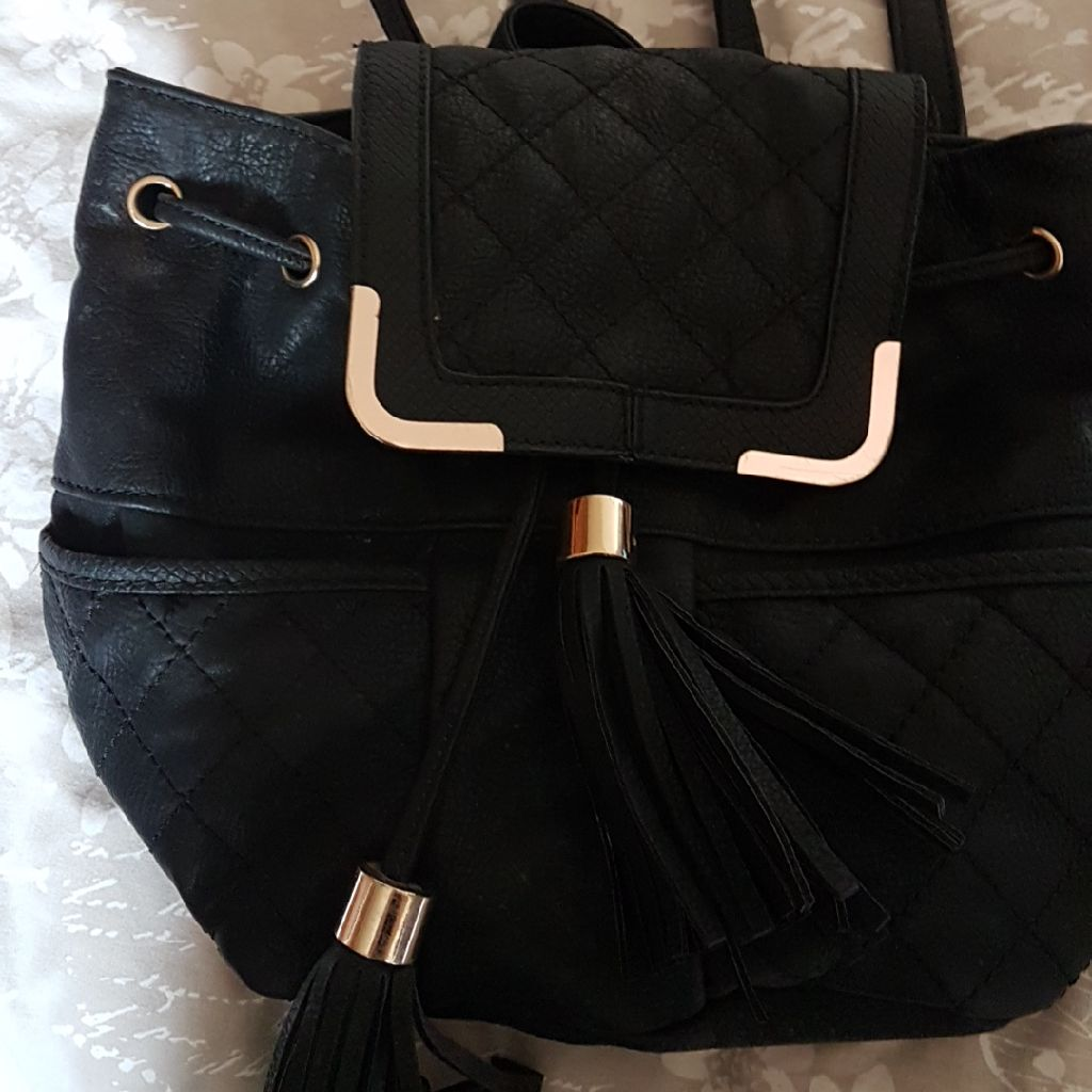 Ladies back pack style bag