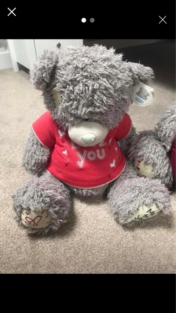 Medium Tatty Teddy Bear