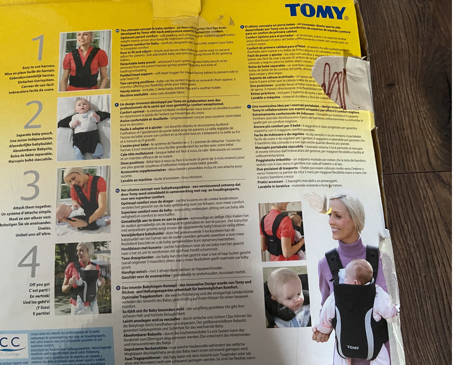 Baby Carrier: Tomy Premier Baby Carrier