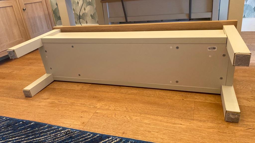 Next Malvern Cream Bench Set RRP £425