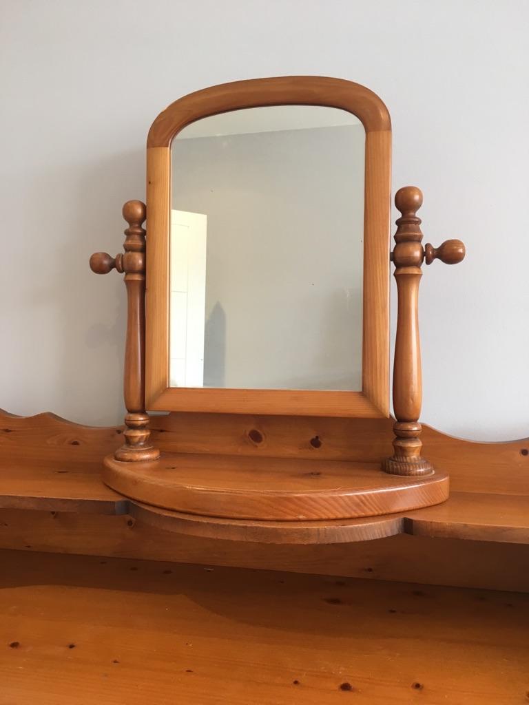 Oak Dressing Table
