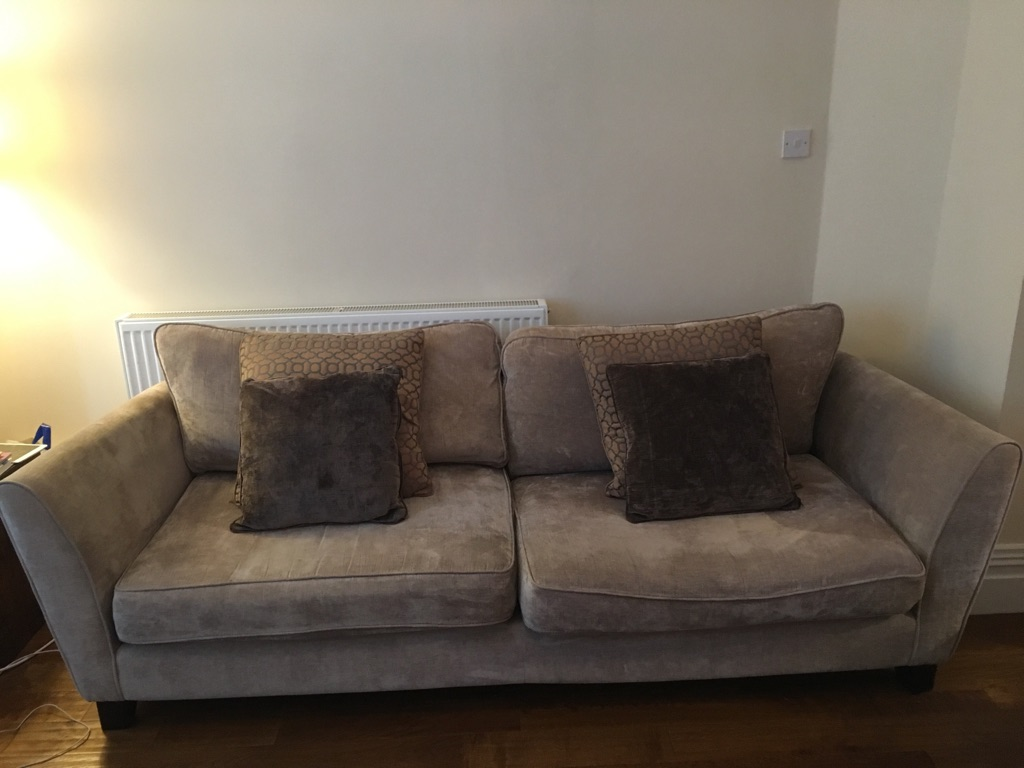 Csl 4 seater couch in the colour mink - £150