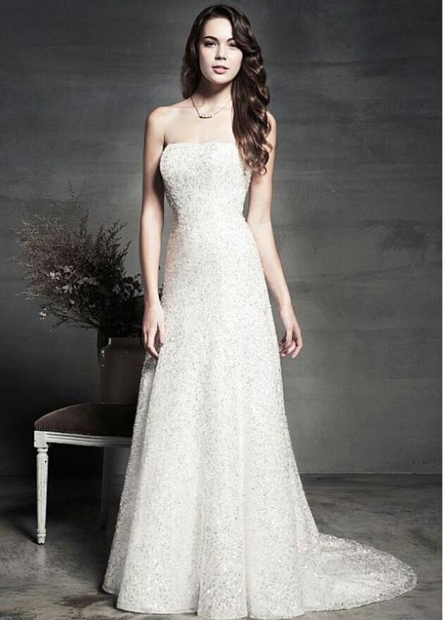 Chanel wedding dress from the aspire collection @ berketex bride