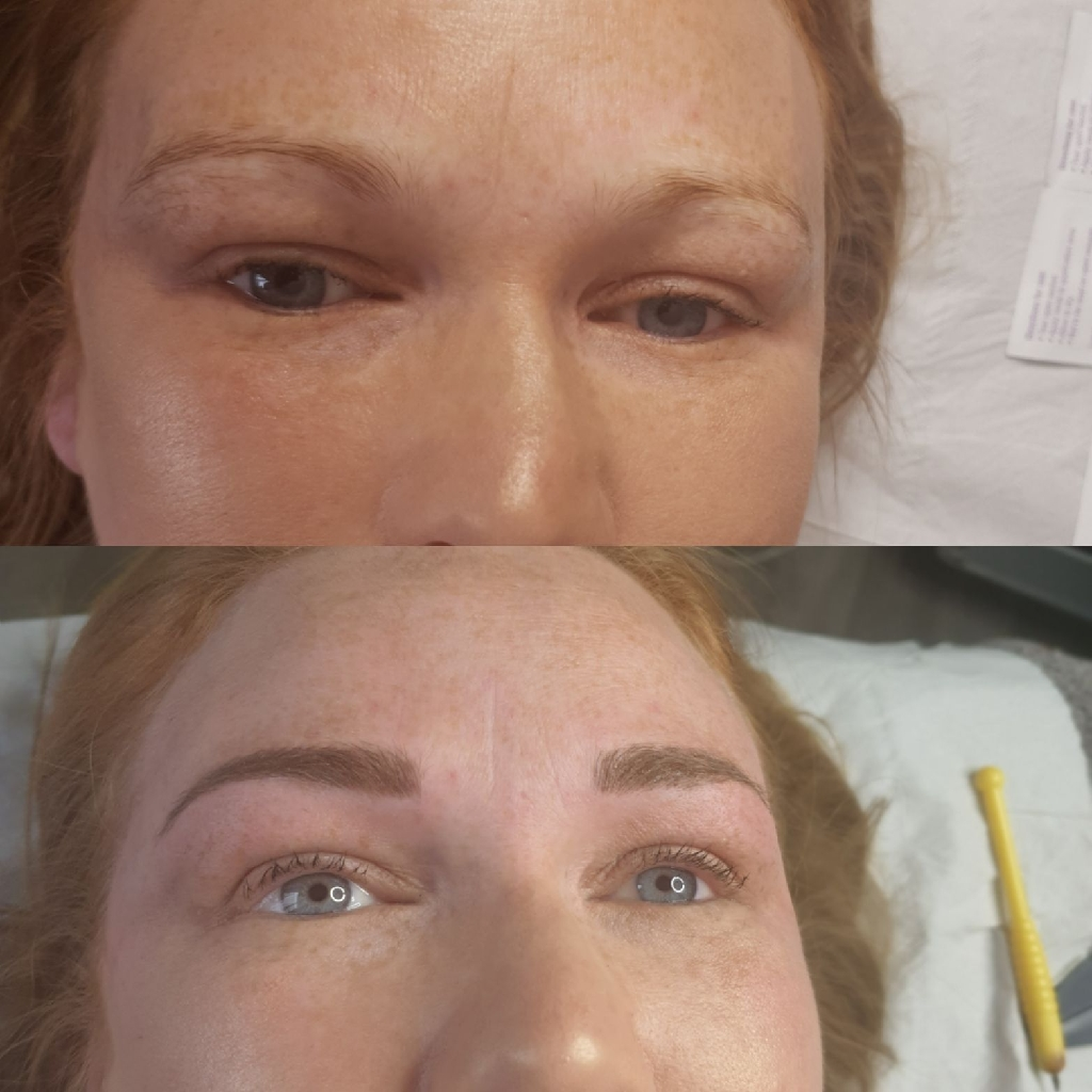Microblading / Ombre Eyebrows , Eyelash extensions