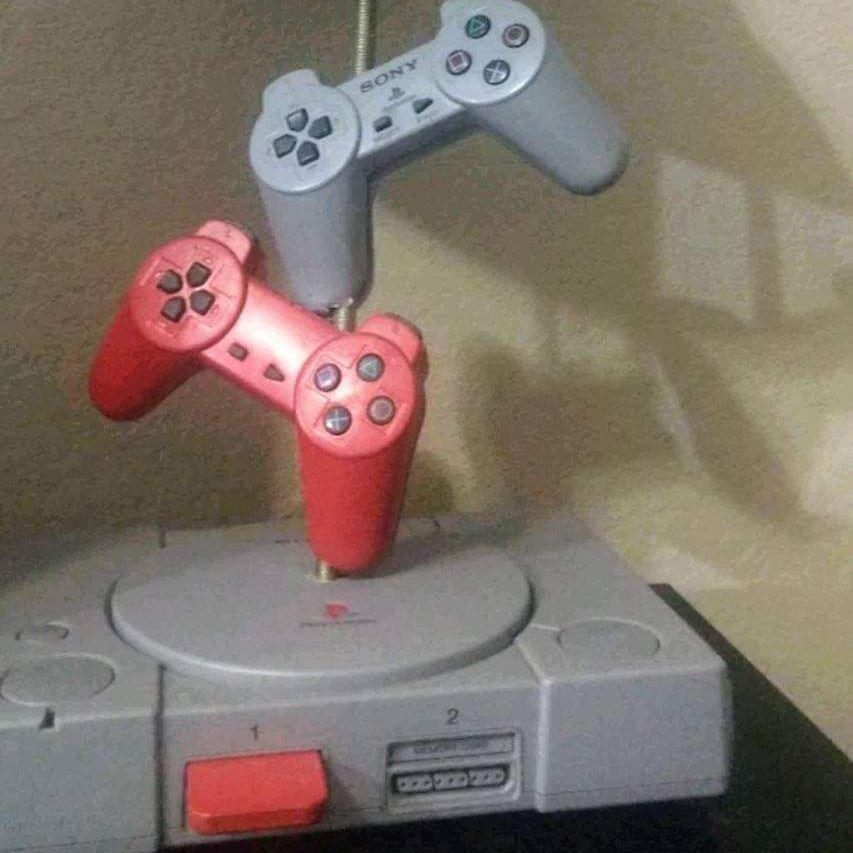 PlayStation lamp