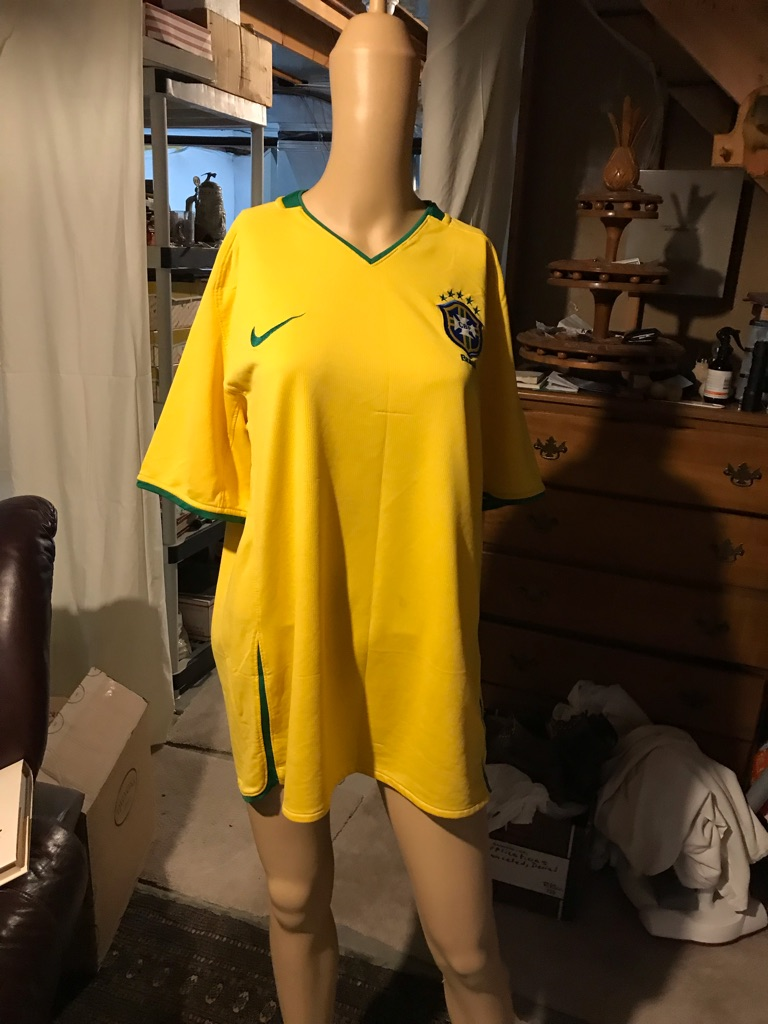 Nike Brazil CBF National Soccer Team Jersey