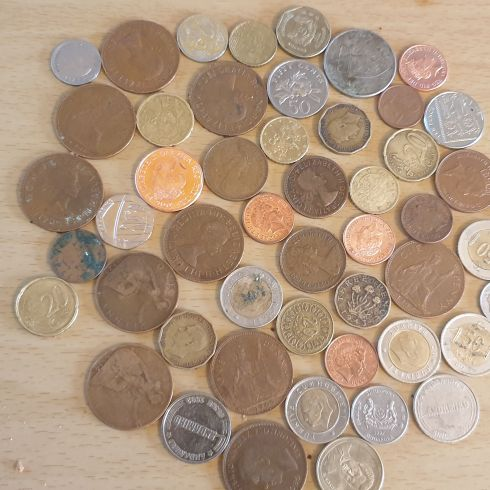 Lots of old and rare coins