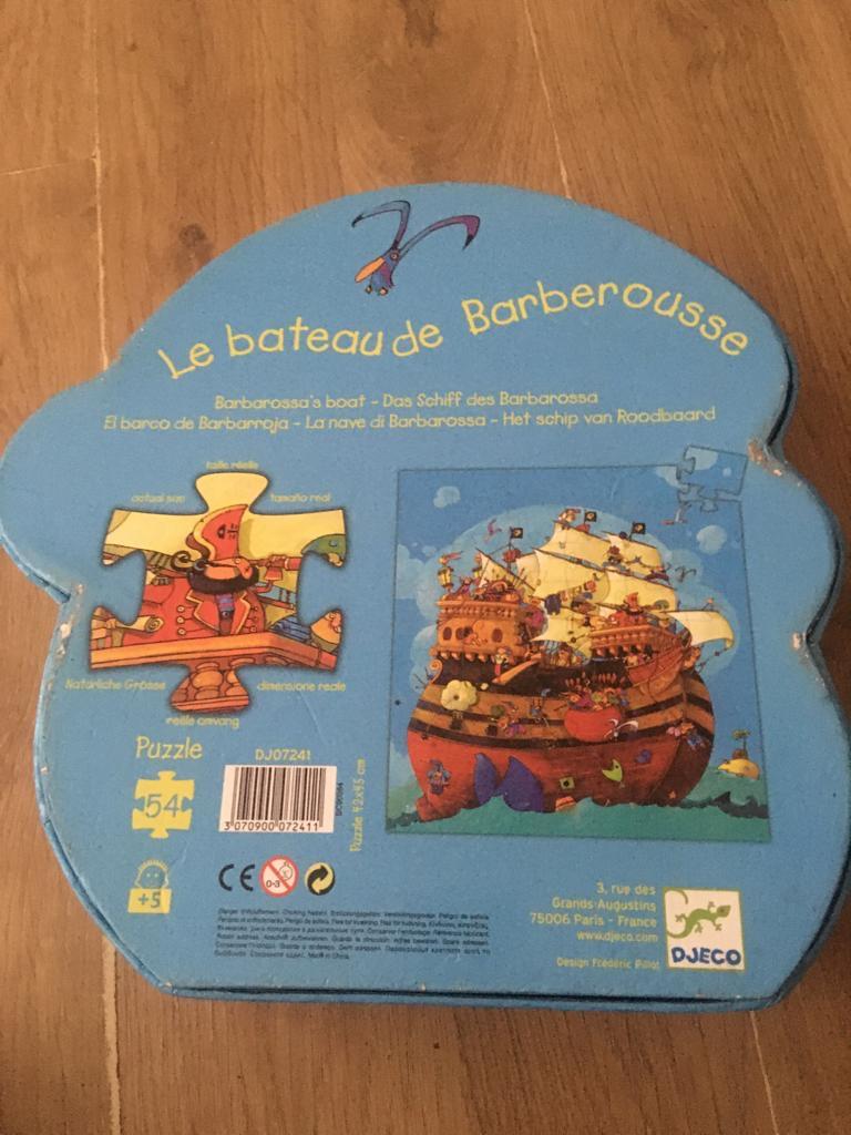 Barbarossa's Boat Puzzle