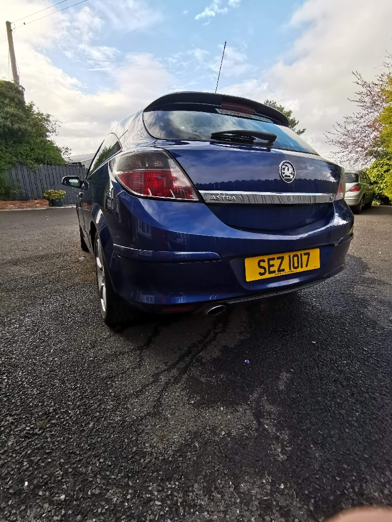 Vauxhall Astra 1.8 SRI LONG MOT 08