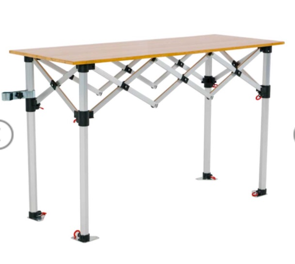 Market Stall / Steel Weights / Counter Wooden Top