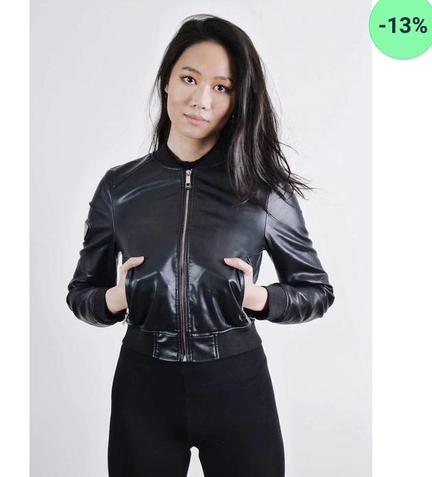 Ladies bomber jacket 13% off in my shop