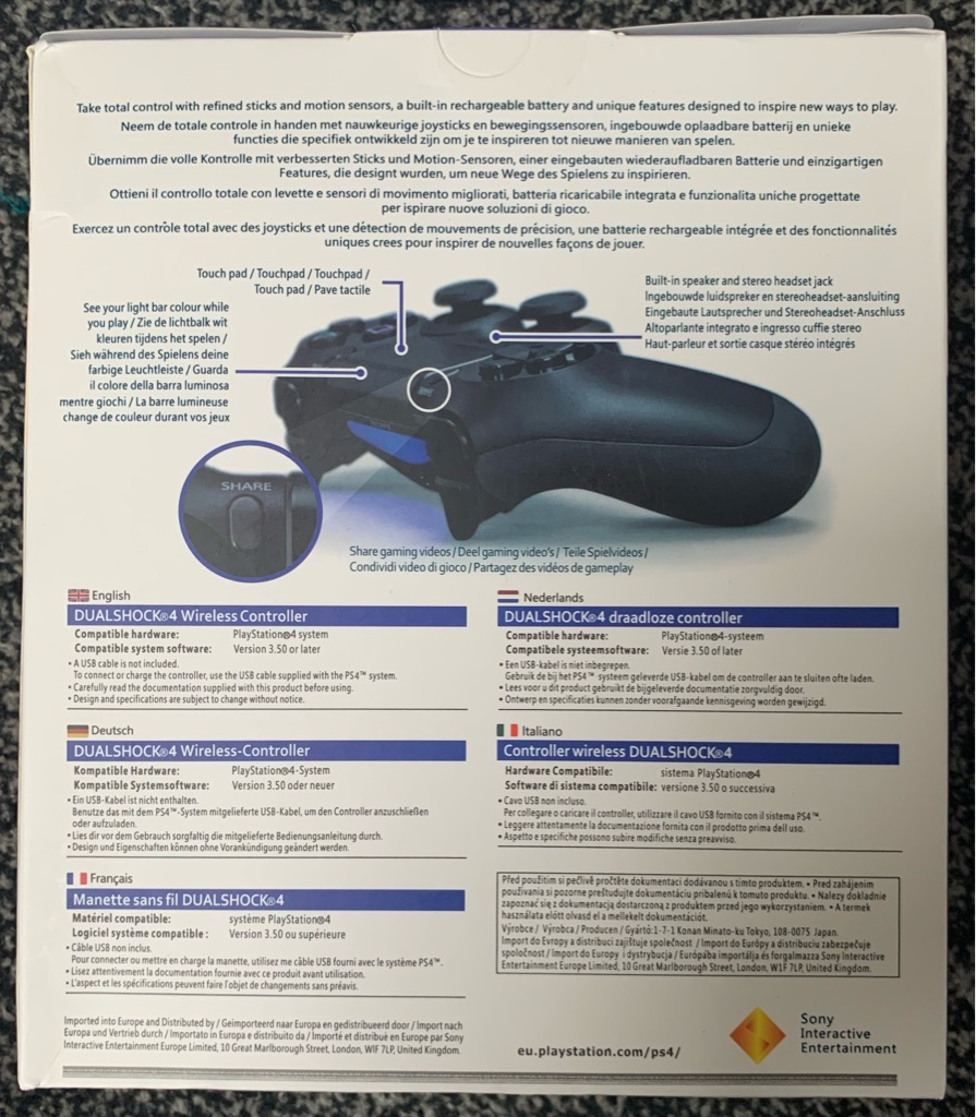*BRAND NEW* Sony PS4 Controller Blue