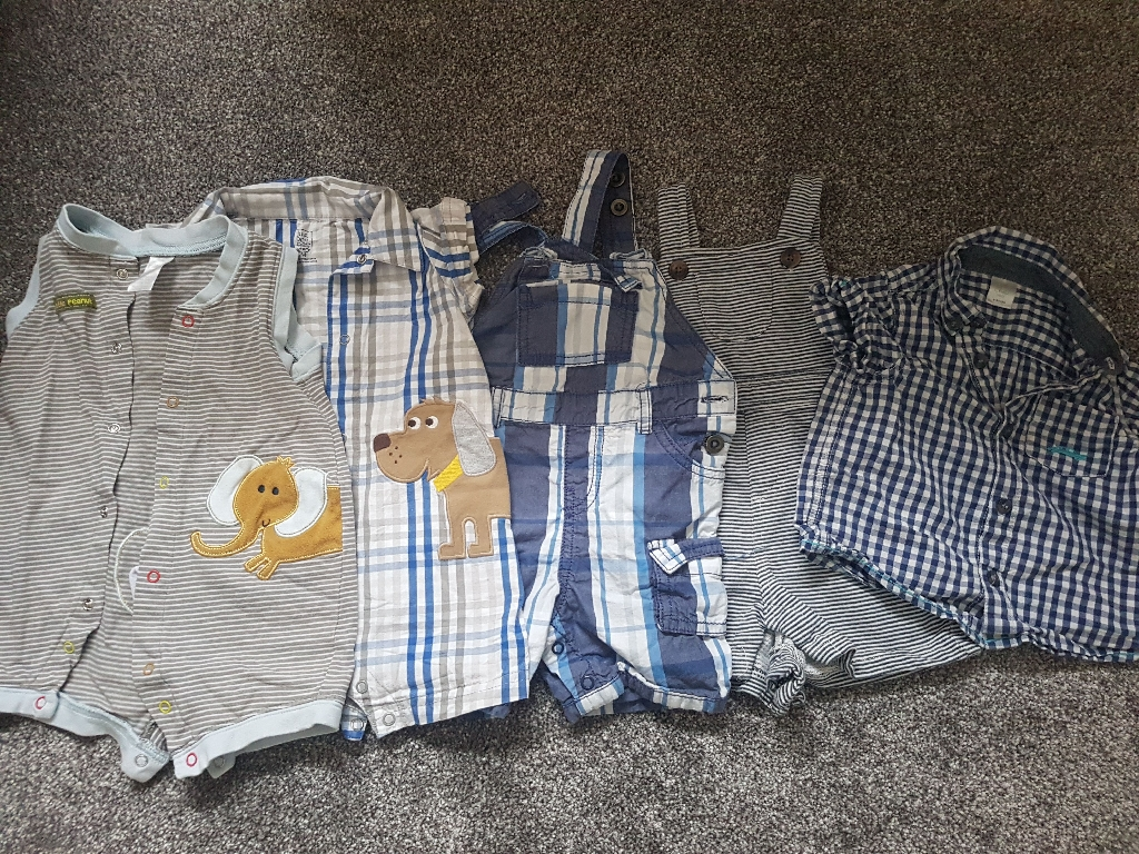 baby boy 6-9 months bundle