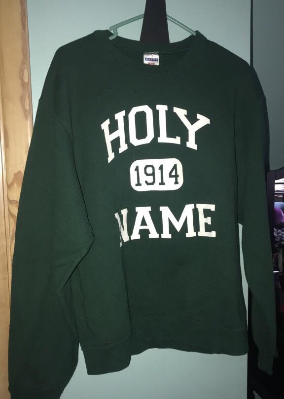 Holy name crew neck