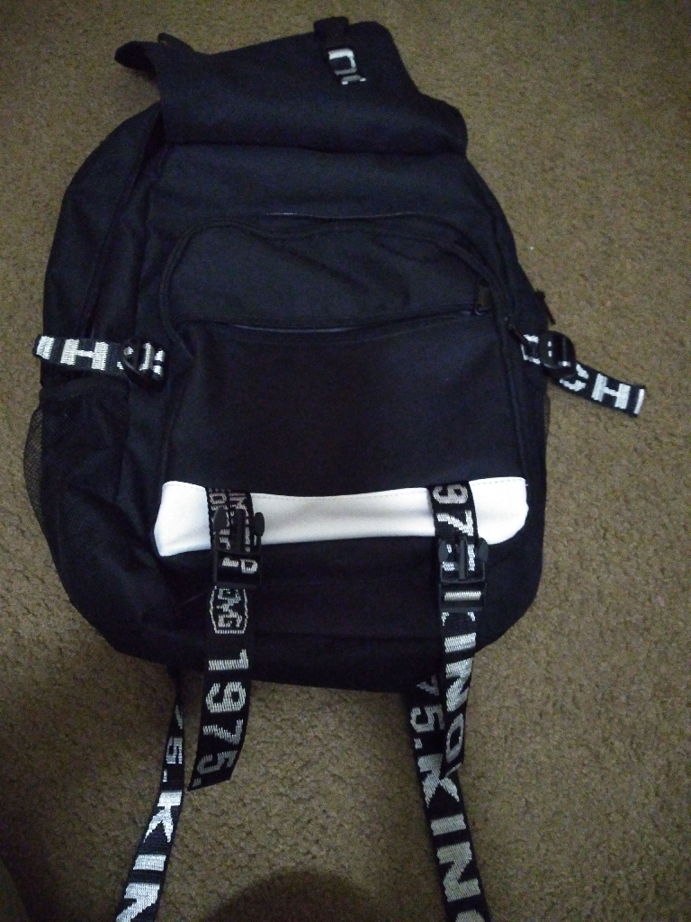 Glow in the dark Fortnite backpack never used