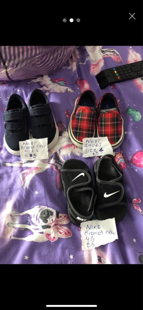 Various boys toddler shoes 4plus Next+Vans