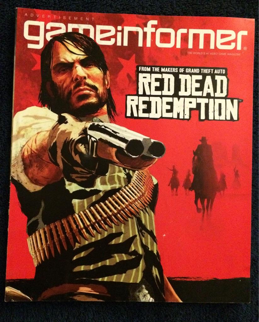 Game Informer Magazine Red Dead Redemption 🎮🗞🏇🏻🤠